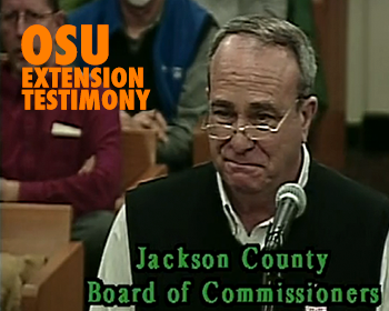 OSU Extension Testimony